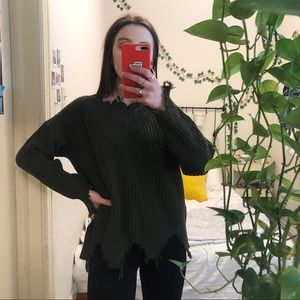 3/$19✨ Distressed LF Sweater